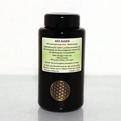 Afa-Algen in Rohkost Qualität