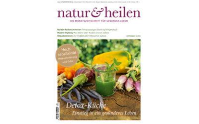 """09-2015 Neuer Artikel bei """"natur & heilen"""""""