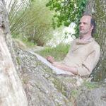 Baum Meditation, Baum umarmen, Baum Entspannung, Eiche