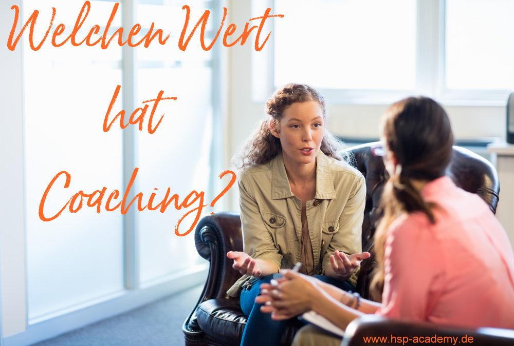 Welchen Wert hat Coaching?