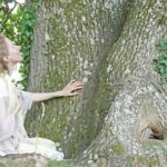 Bäume umarmen, berühren, Baum Meditation, Waldbaden