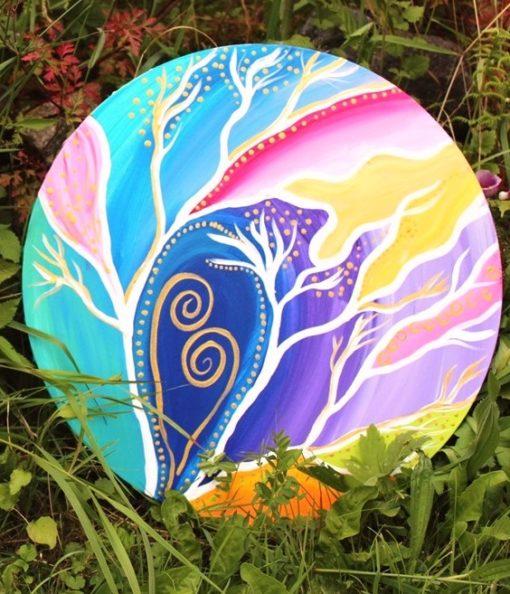 Spirituelle Kunst, intuitives Malen, Sylvia Harke, Flora Bowley, Unterwasserwelten