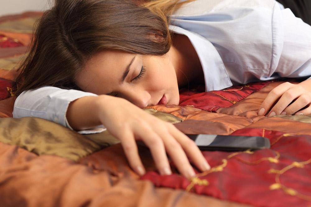 Handy Flugzeugmodus, besserer Schlaf